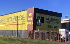 Self Storage in Welshpool for business stock | Welshpool Self Storage