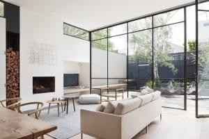 glass wall interior design