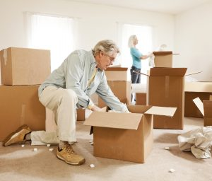 seniors moving houses