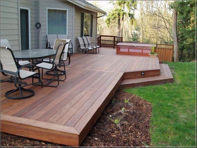 wooden deck