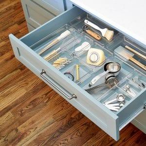 organised kitchen draw