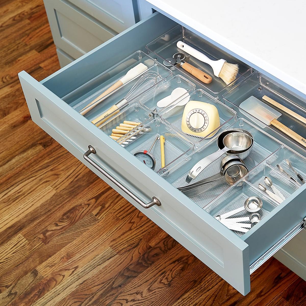 organised kitchen draw