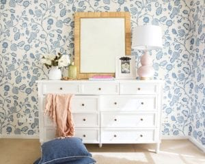 a stylish bedroom drawer